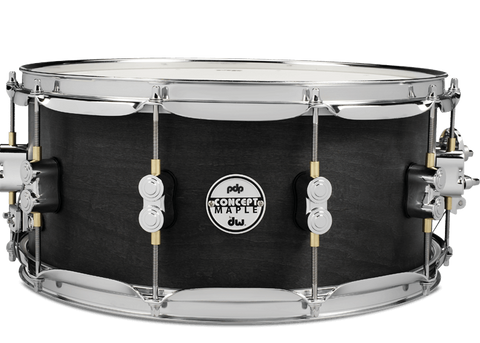"PDP Concept Black Wax 14x6.5"" Snare Drum"