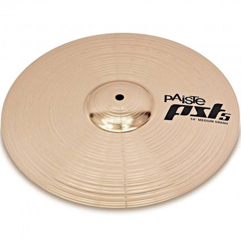 "Paiste PST 5 Series 14"" Medium Crash Cymbal PST5NMCR14"