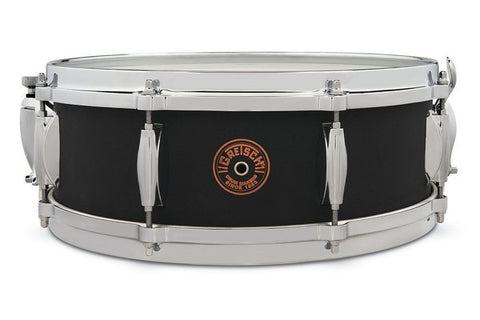 "Gretsch 14x5"" USA Custom Black Copper Snare Drum - G4160BC"