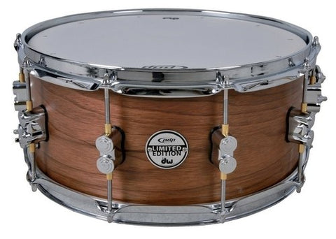 "PDP BY DW LTD Edition Maple/Walnut Snare Drum 14"" x 8"""