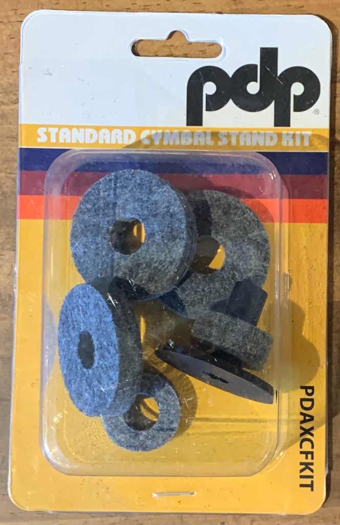 PDP Cymbals felt set (6 piece) 1 x Crown, 2 x clutch, 3 Cymbal PDAXCFKIT