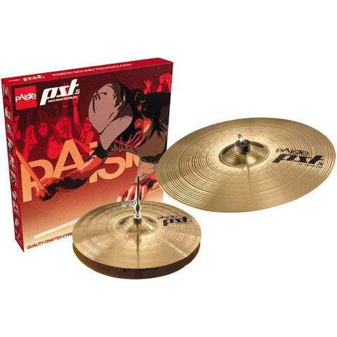 "Paiste PST 3 Essential Cymbal Pack 13"" Hi-hats 18"" Crash/Ride PST3BS213"