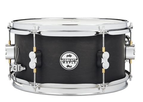 PDP Concept Black Wax Snare Drum 12x6""
