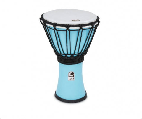 "Toca 7"" Djembe Freestyle Colorsound Pastel Pastel Blue"