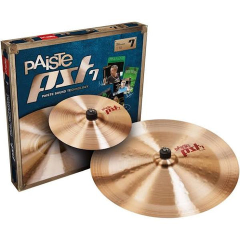 Paiste PST 7 Series Effects Pack  (10 Splash  / 18 China ) PST7FXPACK