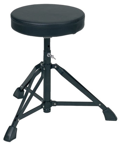 Gewa Basix 100 Series Double Braced Drum Stool - Black