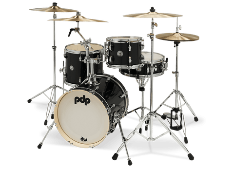 PDP New Yorker Black Onyx Sparkle (Shells Only) Drum Kit