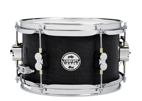 PDP Concept Black Wax Snare Drum 10x6""