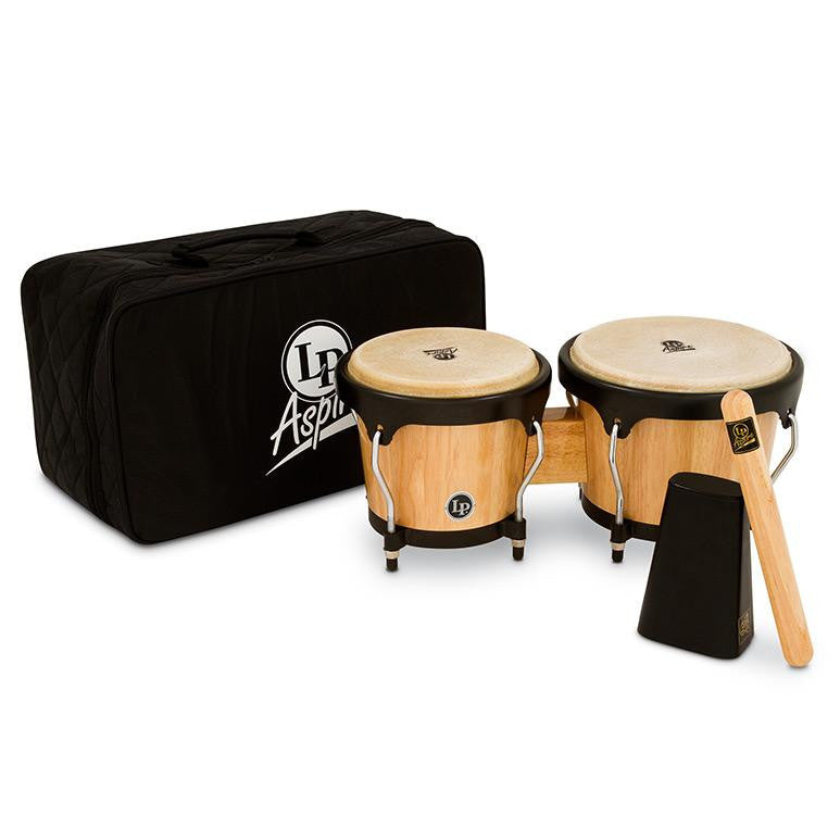 This is a picture of a LP Aspire Bongo Kit Natural