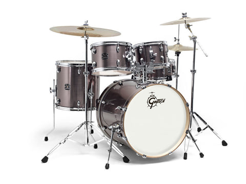 "Gretsch Energy 22"" Drum Kit w/ Hardware & Paiste 101 Set."
