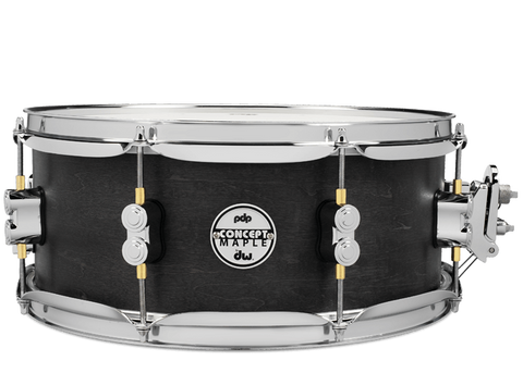 "PDP Concept Black Wax 13"" x 5.5"" Snare Drum"