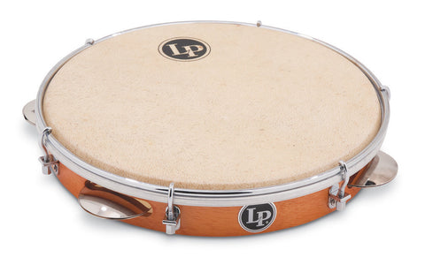 "Latin Percussion 10"" Pandeiro Brazilian LP3010N (Natural Head)"