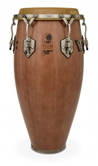 "Toca 3911-3/4D Traditional Series 11 3/4"" Conga Dark Walnut Conga"