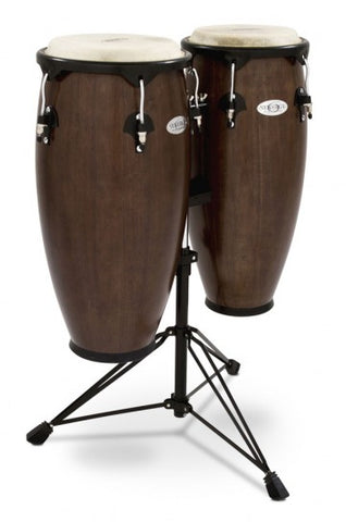 "Toca 2300TOB 10"" and 11"" Synergy Series Tobacco Conga Set"
