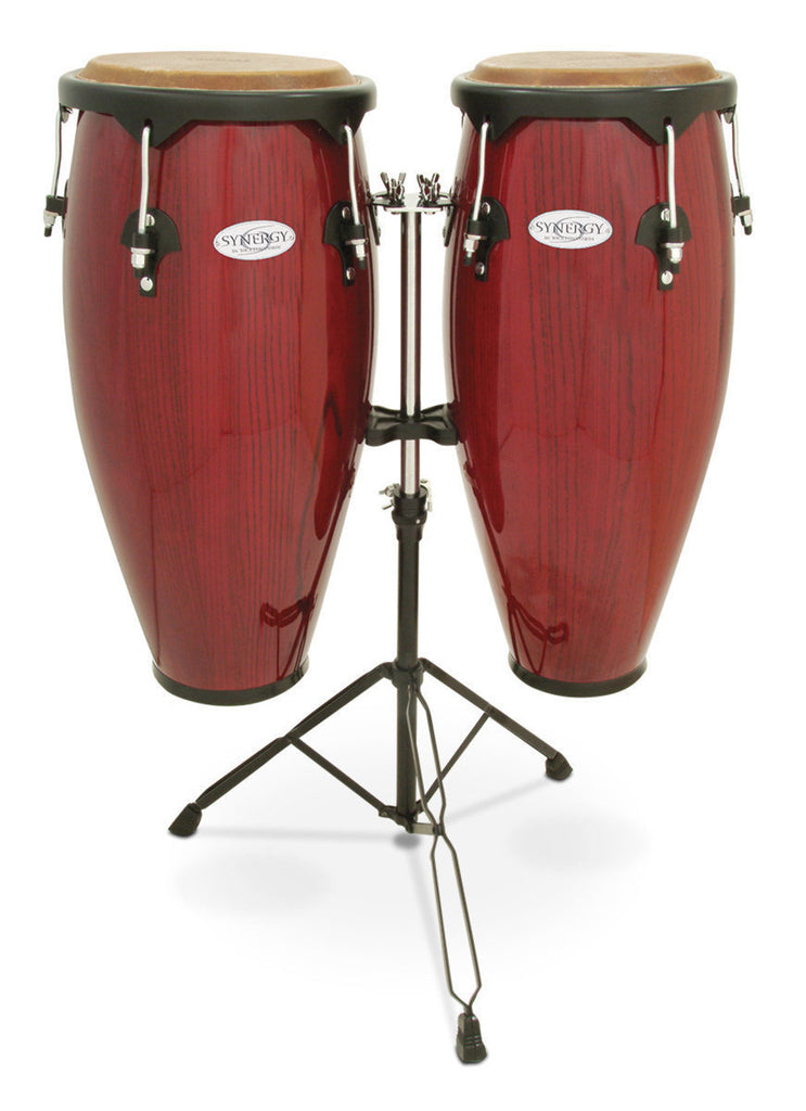 "Toca 10"" and 11"" Conga Synergy Series Rio Red"
