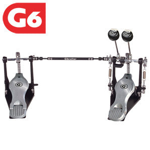 This is a picture of a GIBRALTAR 6000 Series Double Pedal Chain Drive