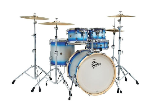 "Gretsch CS1-E625_BSD Blue Duco Catalina Birch Ltd Edition 22"" 5 Piece Drum Kit"