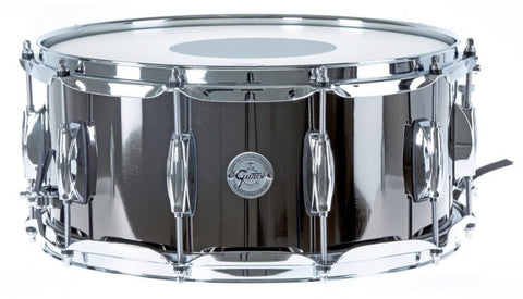 "GRETSCH Full Range Snare Drum 14"" x 6.5"" Black Nickel over Steel"