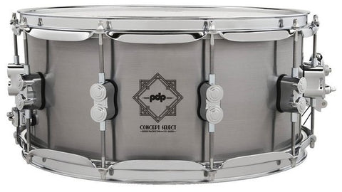 "PDP by DW Concept Select 14x6.5"" Steel Snare Drum PDSN6514CSST"