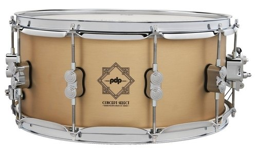 "PDP by DW Concept Select 14x6.5"" Bell Bronze Snare Drum PDSN6514CSBB"