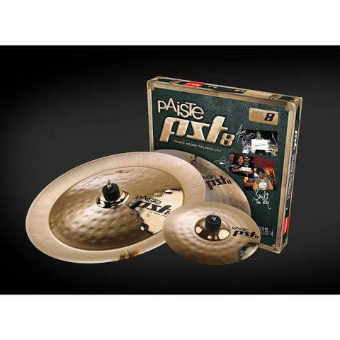 Paiste PST 8 Reflector Rock Effects Cymbal Pack PST8BS2RFX