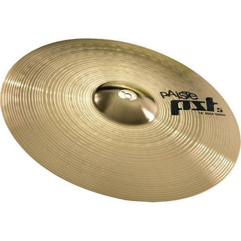 "Paiste PST 5 Series 16"" Rock Crash Cymbal PST5NRCR16"