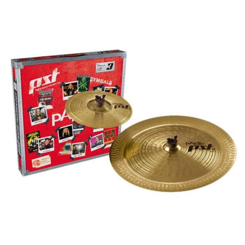 "Paiste PST 3 Effects Pack 10"" Splash - 18"" China PST3BS2FX"