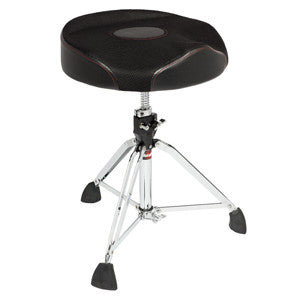 This is a picture of a GIBRALTAR 9000 Series Saddle Throne 2T Round Seat