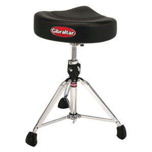 This is a picture of a GIBRALTAR 9000 Series Saddle Throne 2-Tone Black