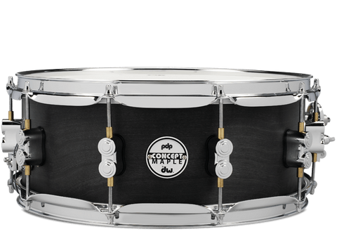 PDP Concept Black Wax Snare Drum 14x5.5""