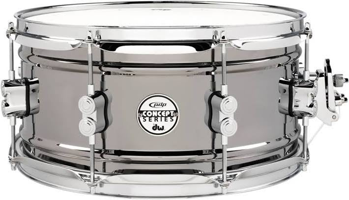 "PDP Concept Black Nickel over Steel 13x6.5"" Snare Drum"