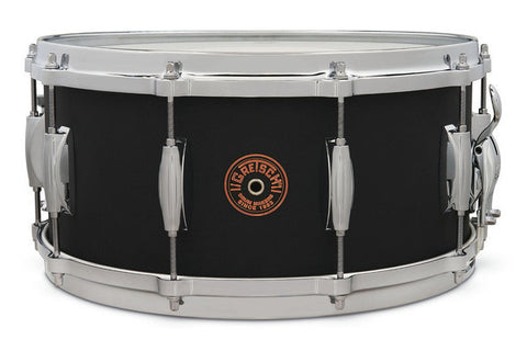 "Gretsch 14x6.5"" USA Custom Black Copper Snare Drum - G4164BC"