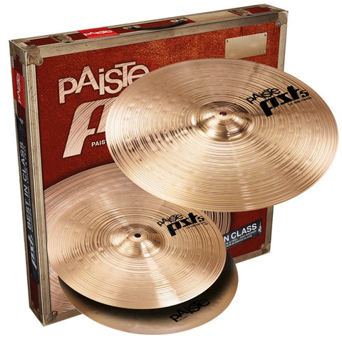 "Paiste PST 5 Series Essential Pack  (14"" Hi-hats  / 18"" Crash/ride )"