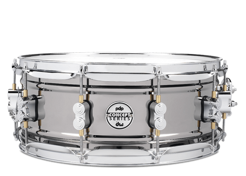 "PDP Concept Black Nickel over Steel 14x5.5"" Snare Drum"