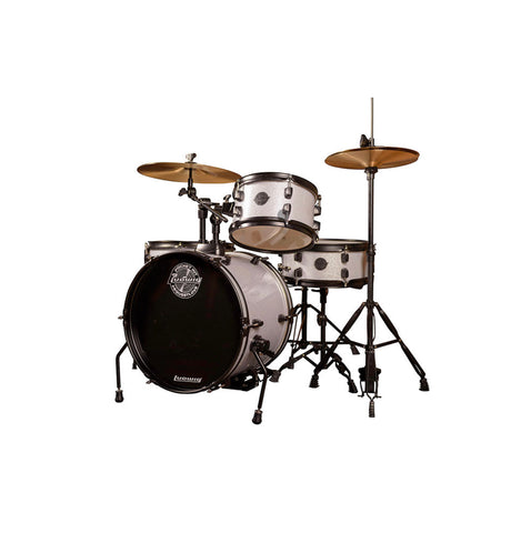 Ludwig Questlove Pocket Drum Kit LC178X029 Silver Sparkle (Inc Free Online Drum Lesson)