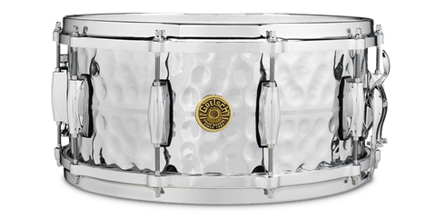 "This is a picture of a GRETSCH USA G4000 Snare Drum 14"" x 6.5"" Hammered COB"