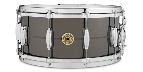 "This is a picture of a GRETSCH USA G4000 Snare Drum 14"" x 6.5"" Solid Steel"