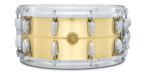 "This is a picture of a GRETSCH USA G4000 Snare Drum 14"" x 6.5"" Bell Brass"