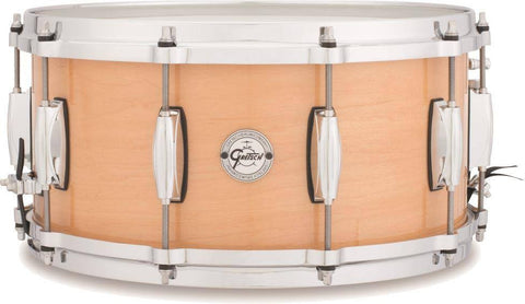 "This is a picture of a GRETSCH Full Range Snare Drum 14"" x 6.5"" Maple"