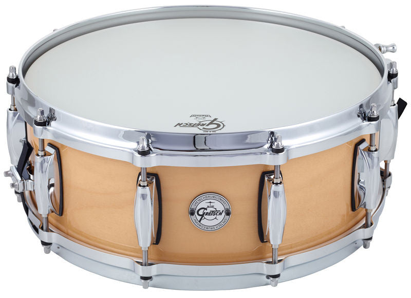 "This is a picture of a GRETSCH Full Range Snare Drum 14"" x 5"" Maple"