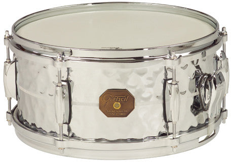 "This is a picture of a GRETSCH USA G4000 Snare Drum 13"" x 6"" Hammered COB"
