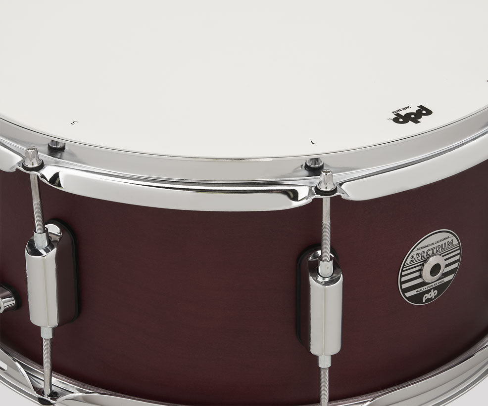 PDP by DW Spectrum 14x6.5 Snare Drum Cherry Stain PDST6514SSRD