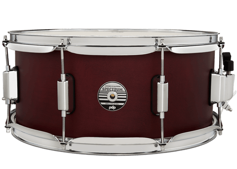 PDP by DW Spectrum PDST6514SSBL 14x6.5 Ultra Violet Satin Stain Snare Drum