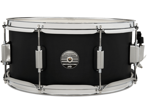 PDP by DW PDST6514SSBK Spectrum 14x6.5 Ebony Stain Snare Drum