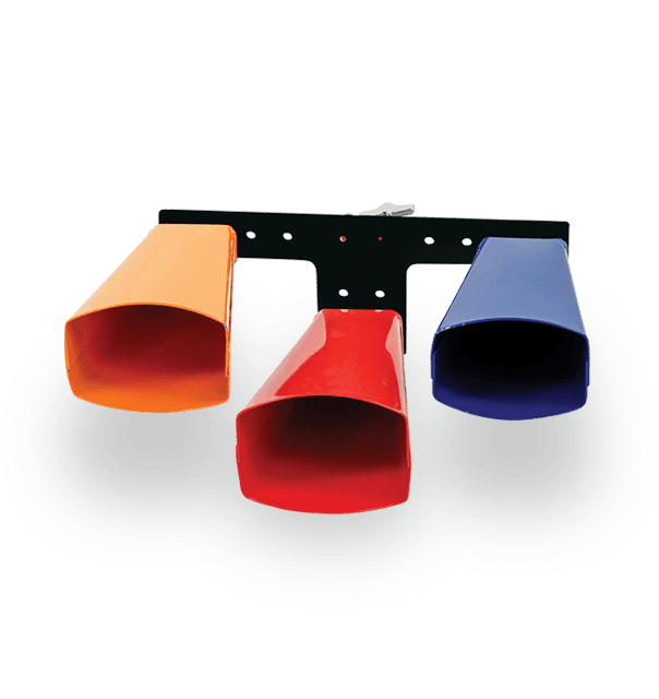 Latin Percussion Giovanni Low Meldody Matched Cowbells v