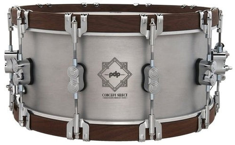 "PDP by DW PDSN6514CSAL Concept Select 14x6.5"" Aluminium Snare Drum"