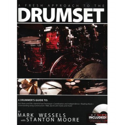 A fresh approach to the drumset by Mark Wessels with Stanton Moore