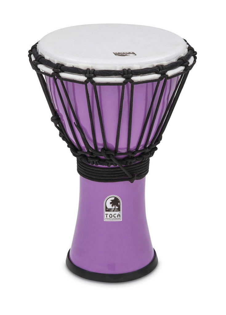 "Toca 7"" TFCDJ-7PR Freestyle Colorsound Pastel Pastel Red Djembe"