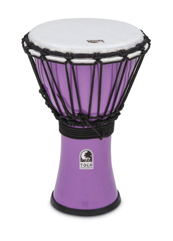 "Toca 7"" Djembe Freestyle Colorsound Pastel Pastel Red"