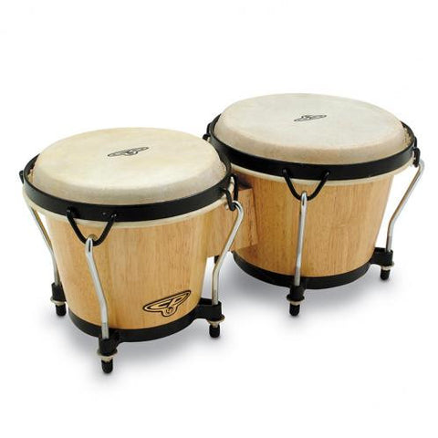 CP CP221-AW Traditional Bongos in Natural | BW Drum Shop